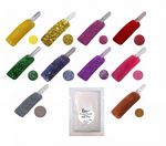 Glitter Shimmer Acrylic Colour Powder in Refill Bag Requires Liquid to use